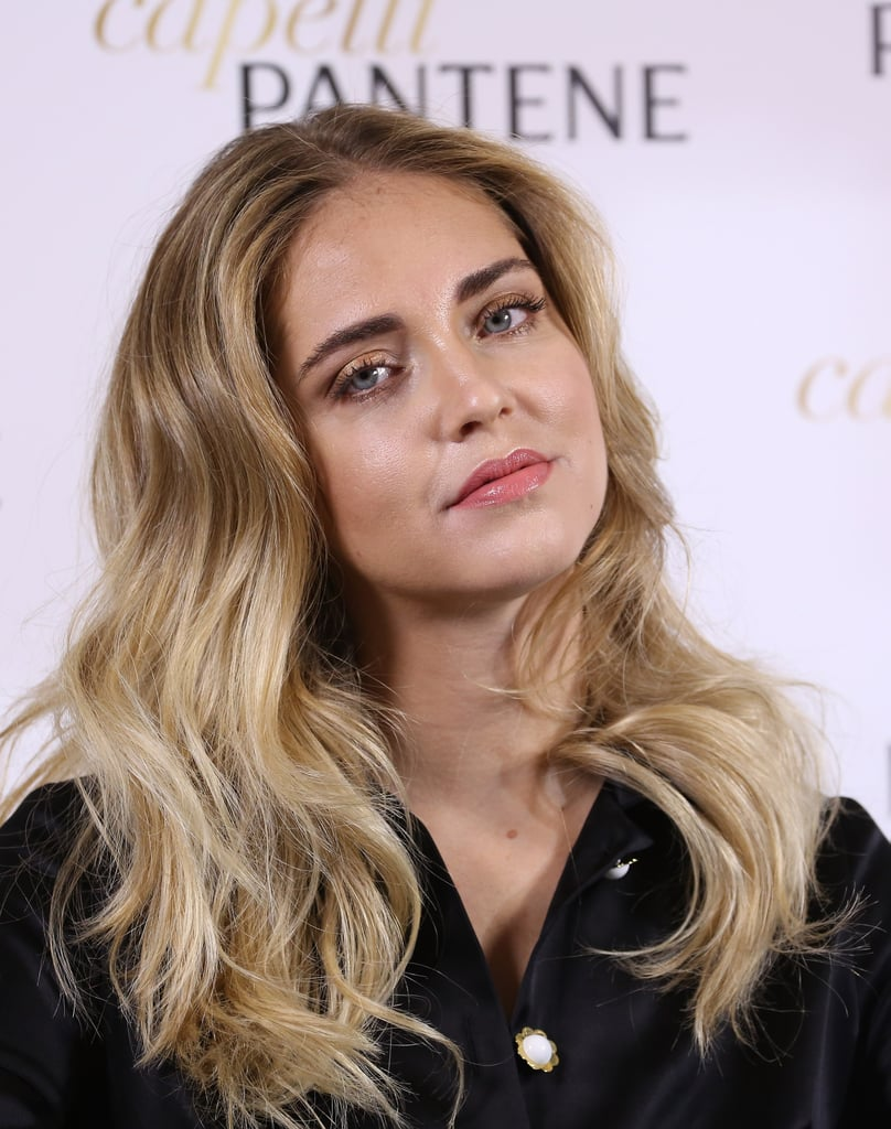 Chiara Ferragni Hair and Beauty Pictures