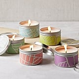 City Scapes Tin Candles