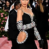 Bella Hadid Black Dress Met Gala 2019