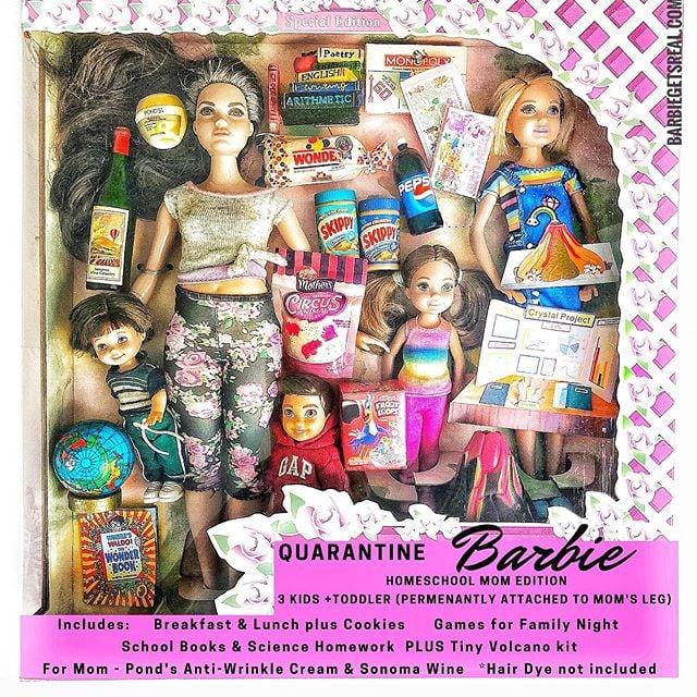 Homeschool Mom Edition Barbie