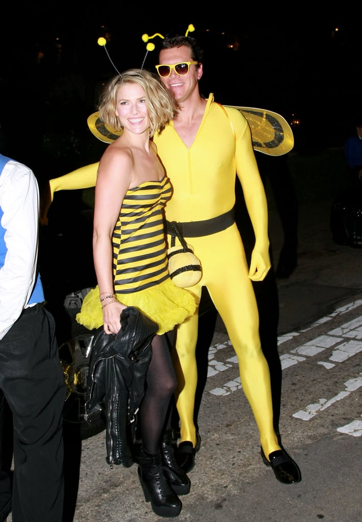 Ali Larter and Hayes MacArthur as Bees