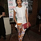 Selita Ebanks at Nylon Guys' April/May cover celebration in Los Angeles.