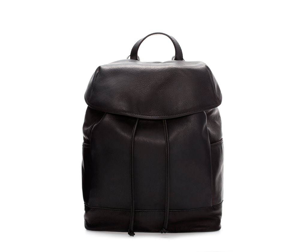 designer backpacks adul  For a super simple style, look no further than Zara's easy leather pick  $179