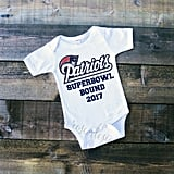 Super Bowl Bound Patriots Onesie
