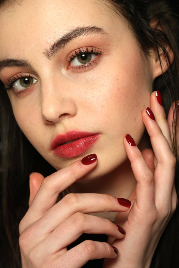 Get a Clean Edge on Your Dark Manicure