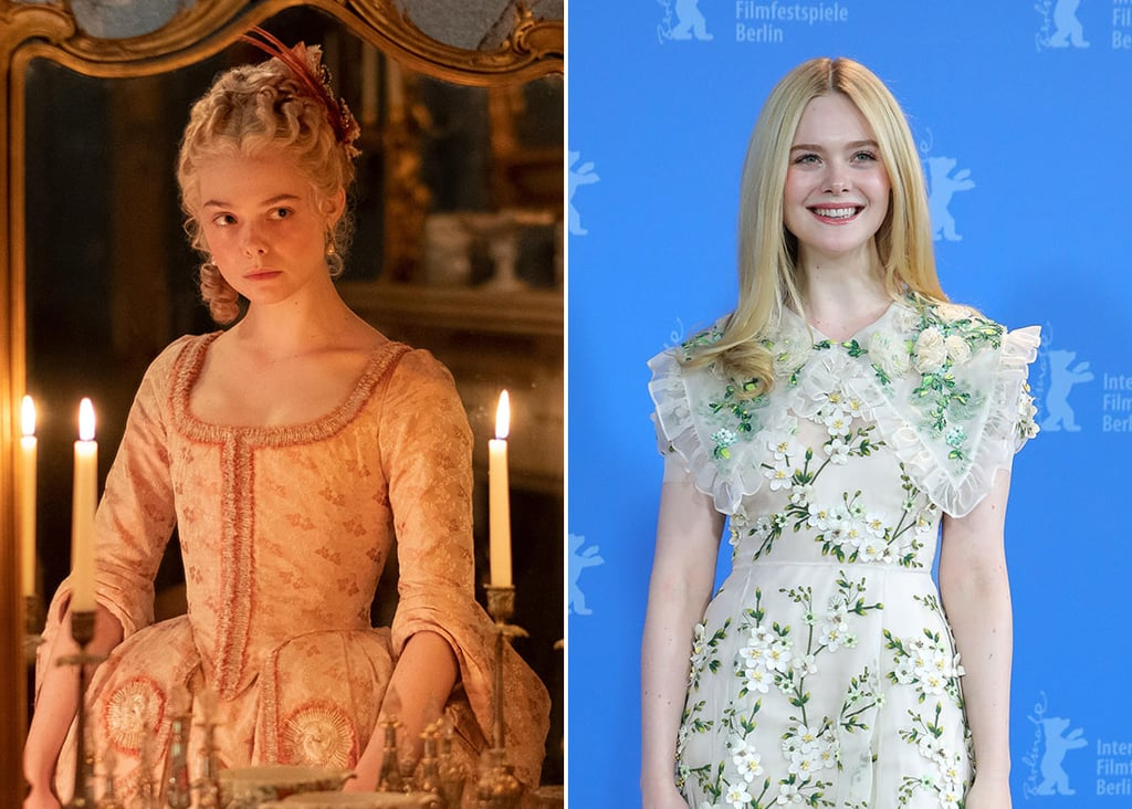 Elle Fanning as Catherine on The Great
