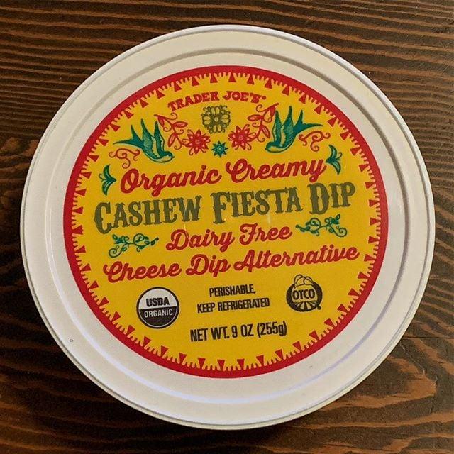Trader Joe's Vegan Cashew Fiesta Dip