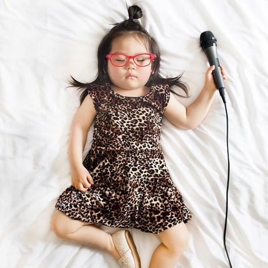 Toddler Dressed as Ali Wong