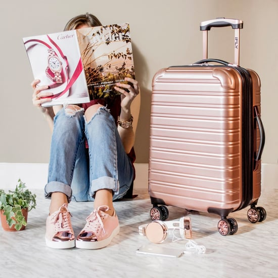 iFly Rose Gold Suitcase