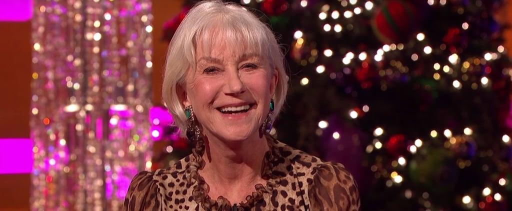 Helen Mirren on The Graham Norton Show December 2016