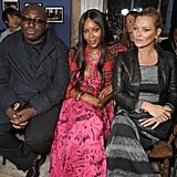 With Edward Enninful.