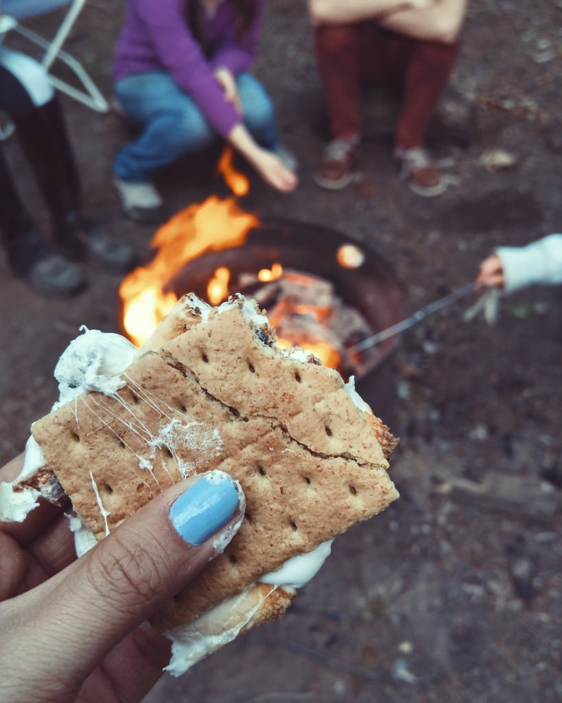 Roast s'mores.