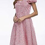 Vemubapis Gingham Plaid Dress