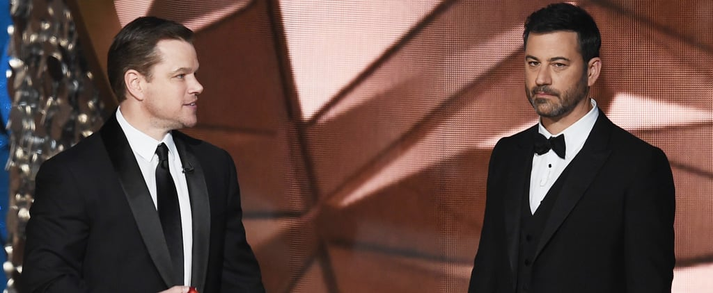 No One Is More Excited to See Jimmy Kimmel Fail at the Oscars Than Matt Damon