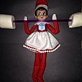 Of course Elf on the Shelf does CrossFit.