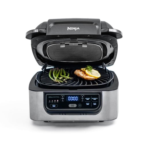Ninja Foodi 5-in-1 Indoor Grill with Air Fry, Roast, Bake & Dehydrate