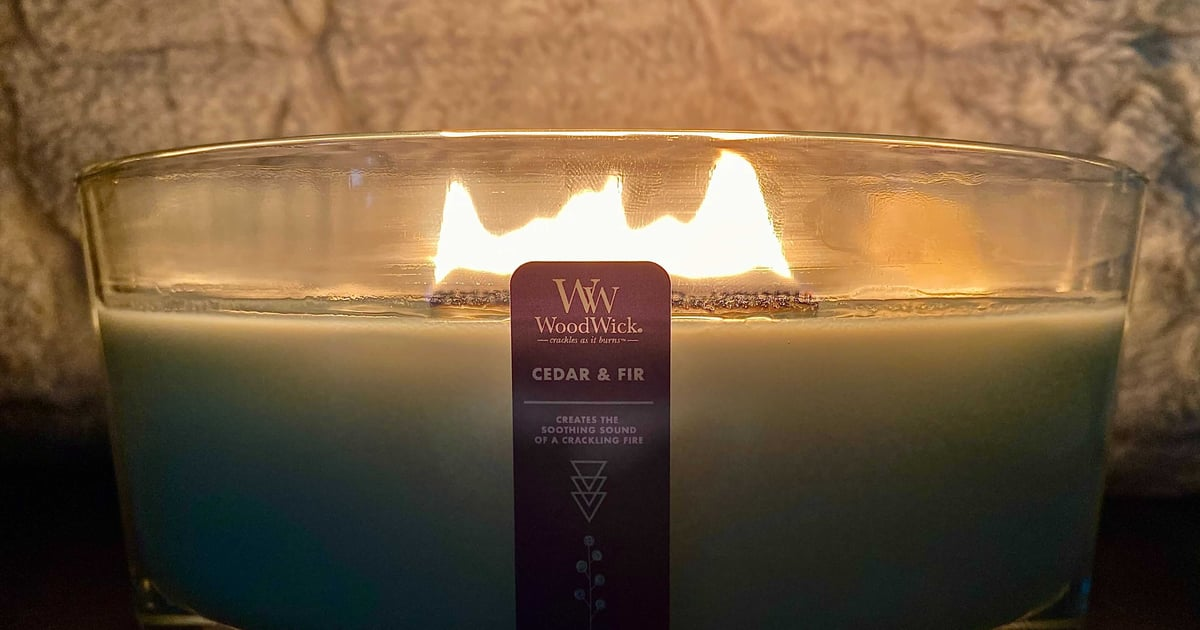 This WoodWick Candle From Bed Bath & Beyond Is Perfect For Cozy Vibes