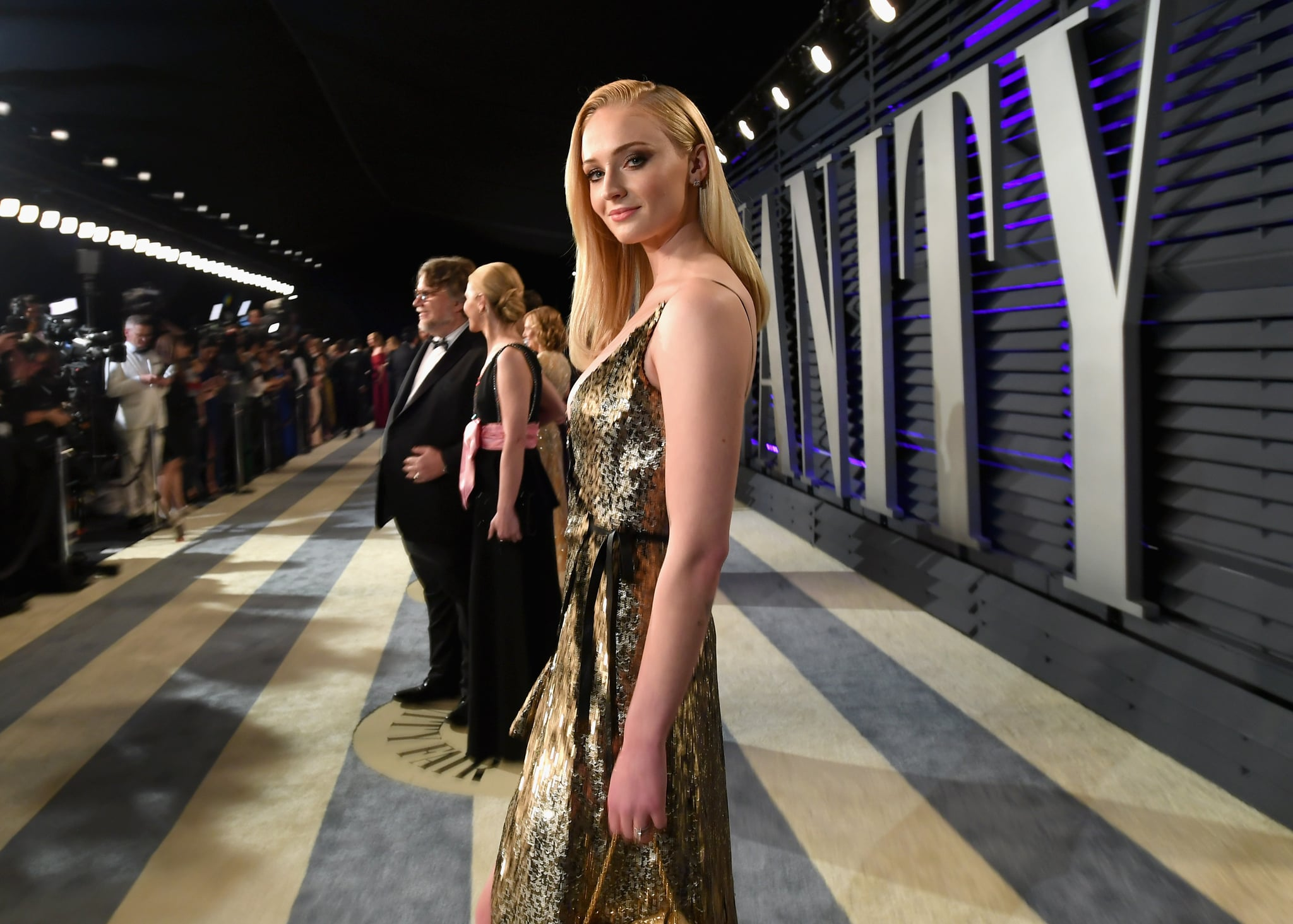 BEVERLY HILLS, CA - FEBRUARY 24:  Sophie Turner attends the 2019 Vanity Fair Oscar Party hosted by Radhika Jones at Wallis Annenberg Center for the Performing Arts on February 24, 2019 in Beverly Hills, California.  (Photo by Mike Coppola/VF19/Getty Images for VF)