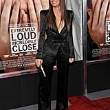 Sandra Bullock wore a sexy pantsuit to a premiere in NYC.