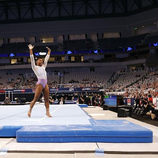 Simone Biles Wins Her Seventh US Gymnastics Championships