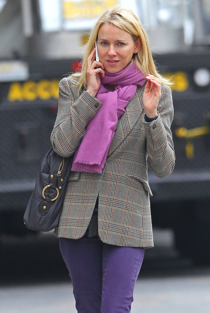 Naomi Watts out in NYC.