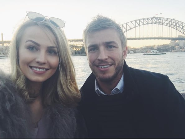 Kieran Jack and Charlotte Goodlet Instagram Pictures
