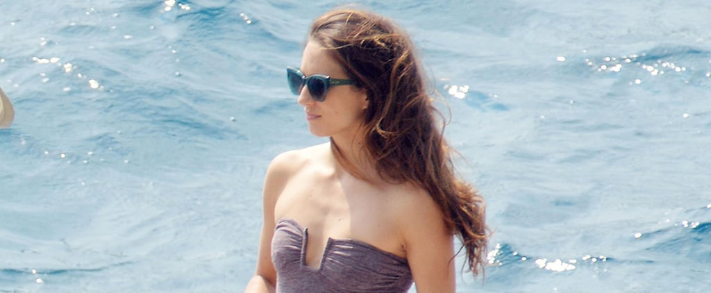 Troian Bellisario Brings Out Her Swimsuit For a Picturesque Bachelorette Trip in Italy