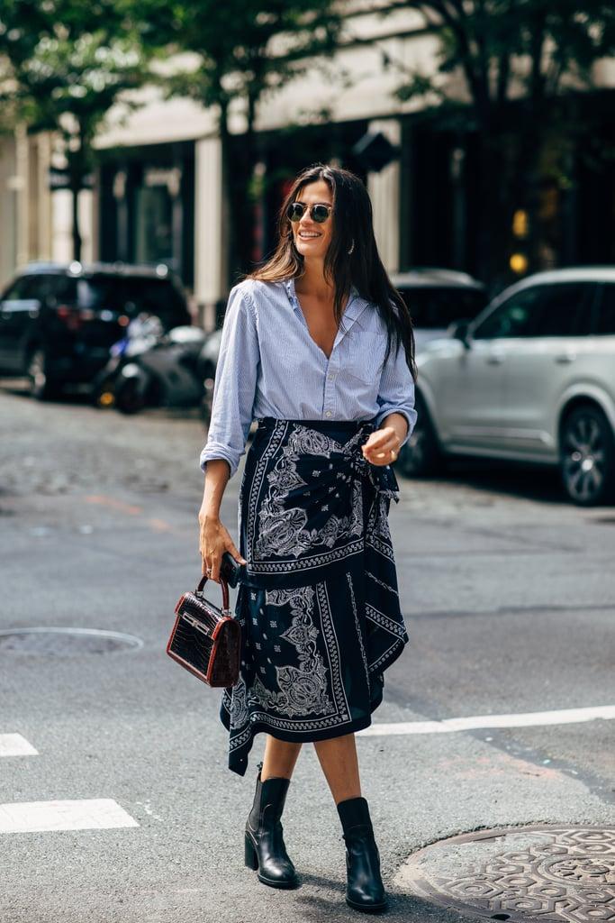 Fall 2019 Fashion Trend: Silk Scarf and Bandana Prints