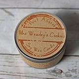 Mrs. Weasley's Cookies Candle ($12)