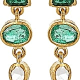 BOAZ KASHI Kiyojo Emerald Drop Earrings ($7,590)