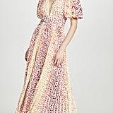 Rococo Sand V-Neck Long Dress