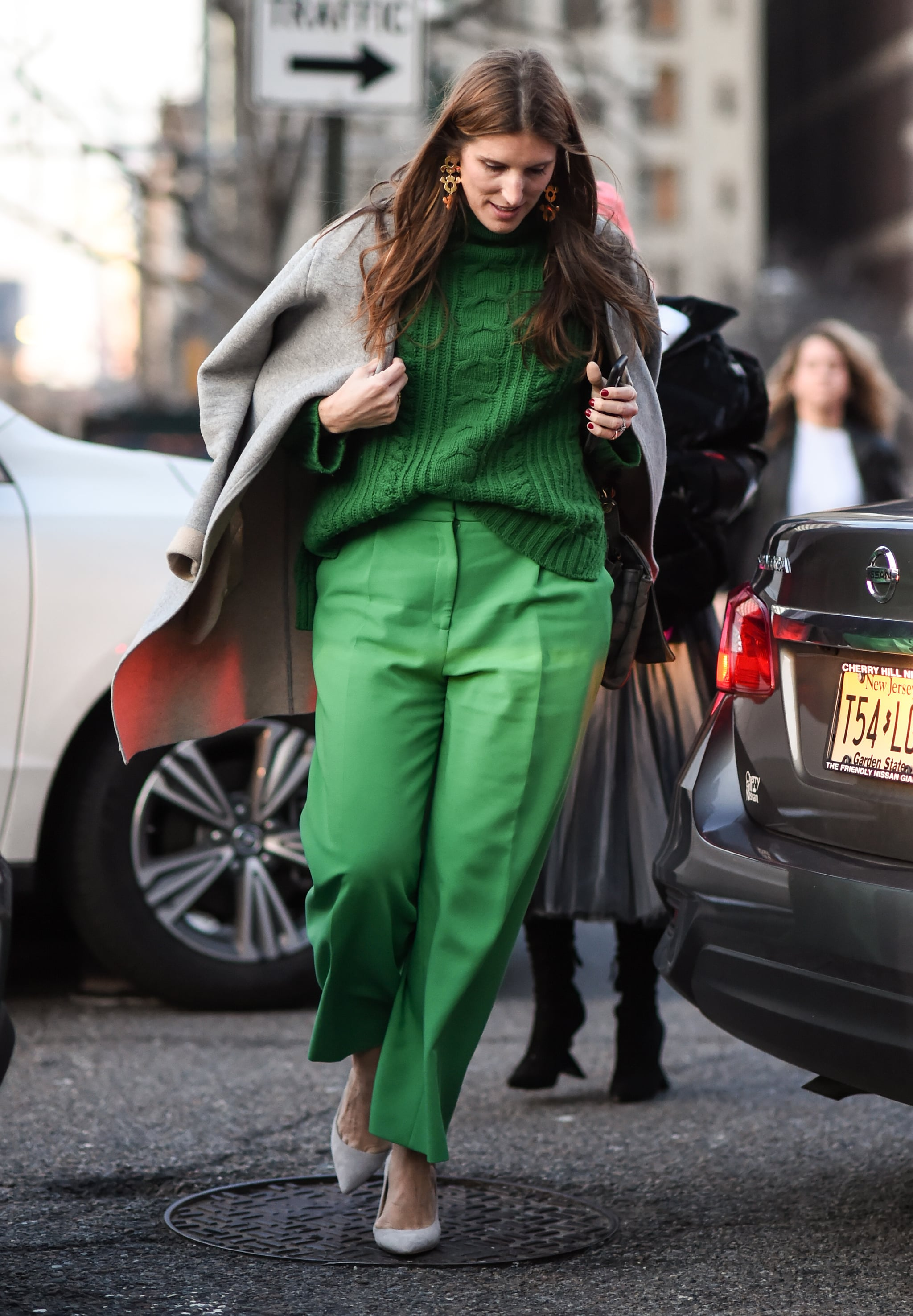 How to Wear a Monochrome Outfit in Green  Monochrome Outfits Are
