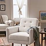 Cassie Tufted Arm Chair