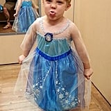 This Dad's Photo of His Son Who Wanted to Dress Up as Elsa For Halloween