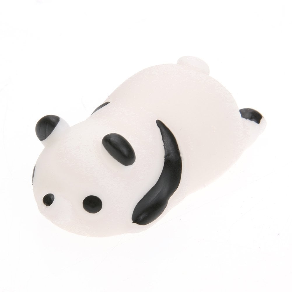 Mini Squishy Squeeze Panda Stress Reliever ($8 for pack of four)
