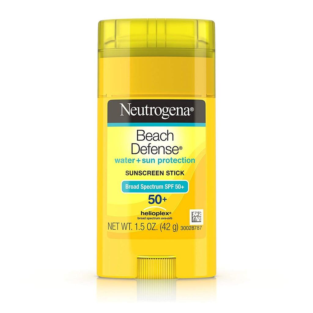 Neutrogena Beach Defense Sunscreen Stick With Broad Spectrum SPF 50+