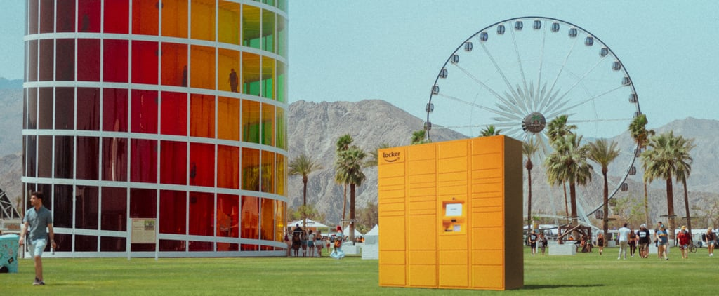 Amazon Lockers at Coachella 2019