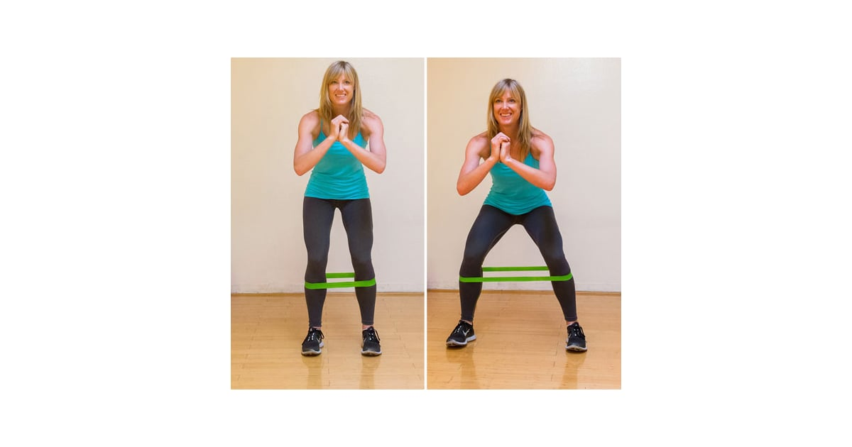 Lateral band walks best butt exercises popsugar for 1 2 3 4 monsters walking across the floor