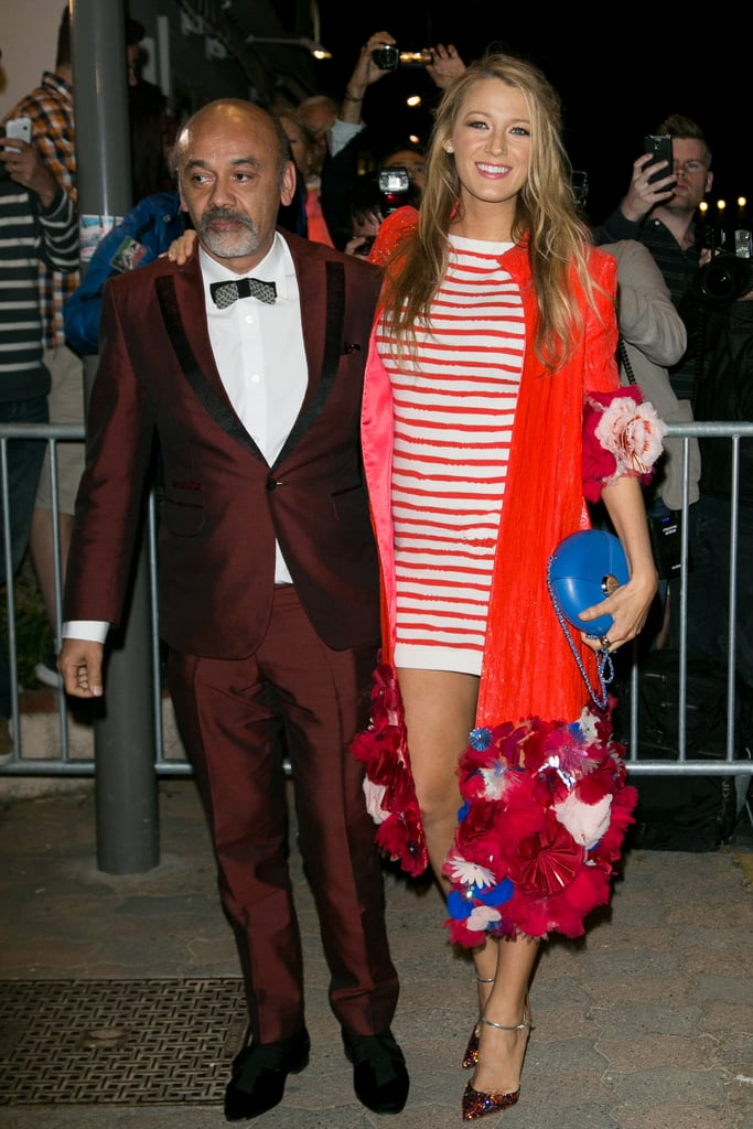 d9fcdd3894a Here she is with shoe designer Christian Louboutin.   How Tall Is ...