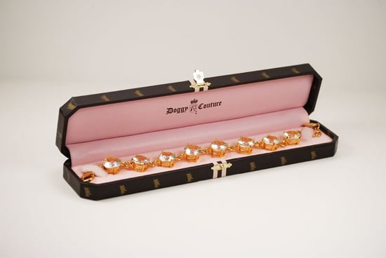Juicy Couture Diamonte Dog Collar Necklace ($85)