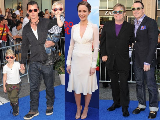 Pictures of Emily Blunt, James McAvoy, Elton John, Gavin Rossdale on Gnomeo and Juliet Red Carpet Premiere
