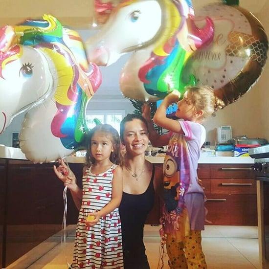 Adriana Lima's Daughter Valentina's Unicorn Birthday Party