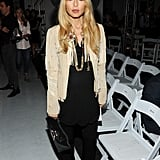 Rachel Zoe attended the Altuzarra show on Saturday.