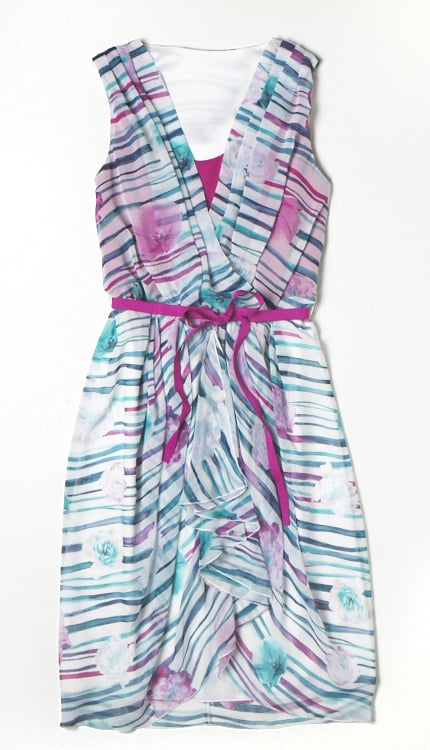 Alberta Ferretti for Macy's Impulse Printed Wrap Dress ($69)