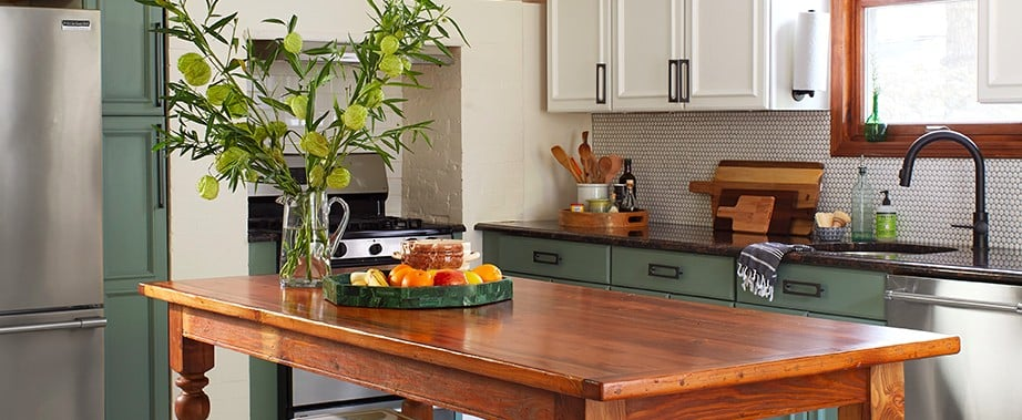 1 Affordable Product Made This Jaw-Dropping DIY Kitchen Makeover Possible