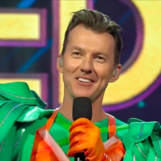 Brett Lee The Masked Singer Australia Elimination Interview
