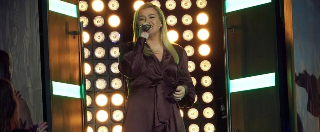 "Kelly Clarkson Singing Sia's ""Chandelier"" Video"