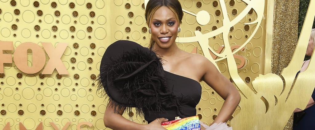 Laverne Cox Auctions Off Her Rainbow Clutch From the Emmys