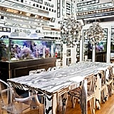The artist's home and studio — running for $165 a night — are covered in mirrors of all shapes and sizes, offering amazing and mind-bending perspectives.