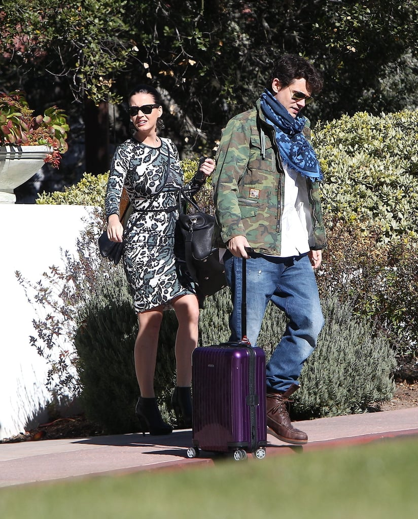 Katy Perry and John Mayer were spotted in Santa Barbara.